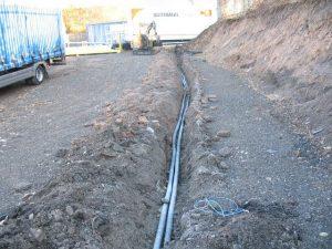 Étapes de l'installation de la fibre optique