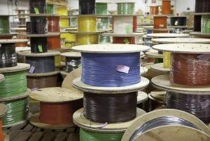 composition du câble de fibre optique