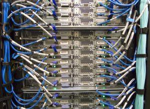 Le câblage d'un réseau de fibre optique